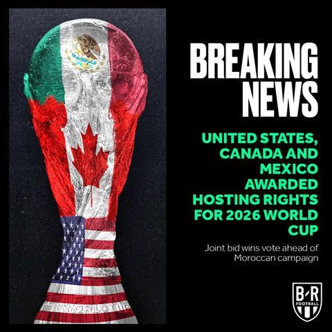 Chính thức Mỹ - Mexico – Canada đồng đăng cai World Cup 2026 hình ảnh