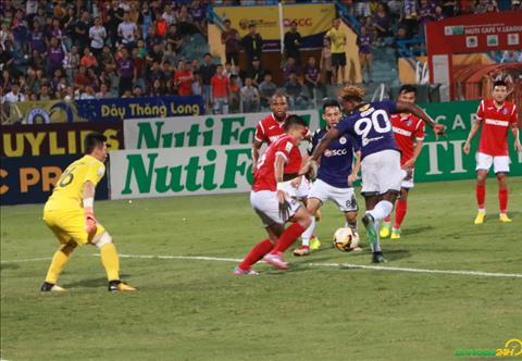 Hà Nội đánh bại Quảng Ninh để vô địch lượt đi như thế nào hình ảnh