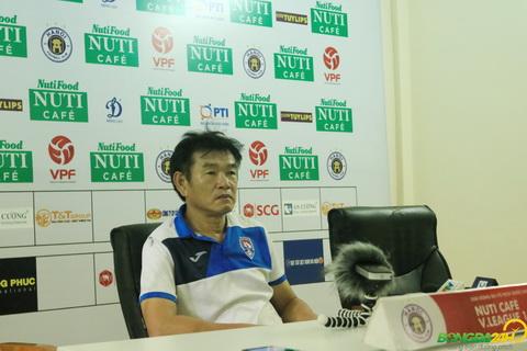HLV Phan Thanh Hùng khẳng định Hà Nội sẽ vô địch hình ảnh