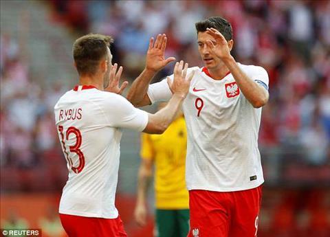 Tong hop: Ba Lan 4-0 Lithuania (Giao huu quoc te)