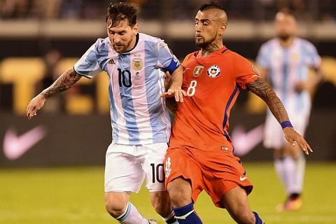 Vidal lên tiếng về Messi trước thềm World Cup
