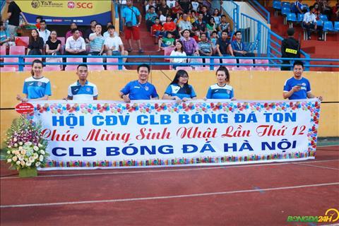 Hoi CDV Quang Ninh gui loi chuc nhan dip Ha Noi FC mung sinh nhat tuoi 12.
