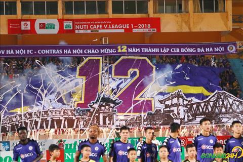 Man chuc mung sinh nhat an tuong cua Hoi co dong vien danh cho Ha Noi FC.