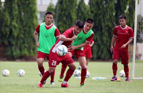 Đội trẻ Hà Nội áp đảo đội hình U19 Việt Nam dự giải U19 Đông Nam  hình ảnh