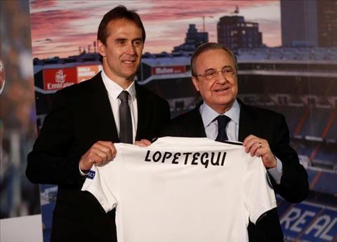 HLV Lopetegui ra mắt Real và nói gì hình ảnh