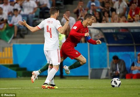 Pha tranh chap dan den qua phat 11m ma Ronaldo thuc hien thanh cong