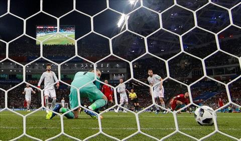 De Gea mac sai sot de Ronaldo co cu dup