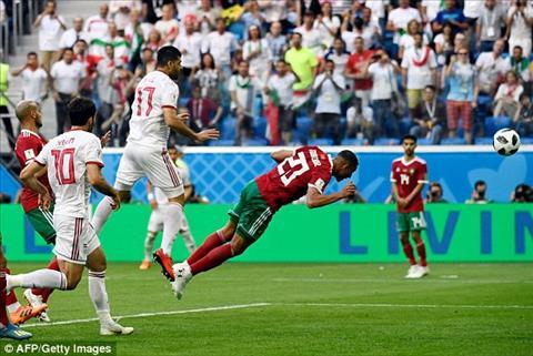 Thống kê gây sốc trận Ma Rốc 0-1 Iran hình ảnh 2