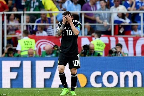 Messi vs Iceland