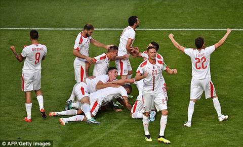 Tong hop: Costa Rica 0-1 Serbia (Bang E World Cup 2018)