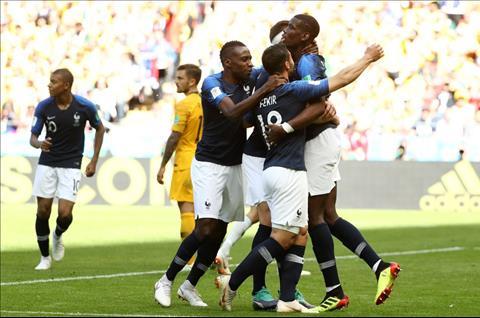 Những thống kê đáng nhớ sau trận đấu Pháp 2-1 Australia hình ảnh