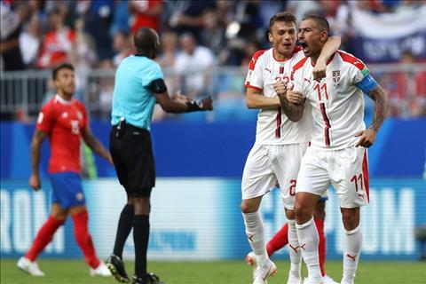 Serbia danh bai Costa Rica 1-0