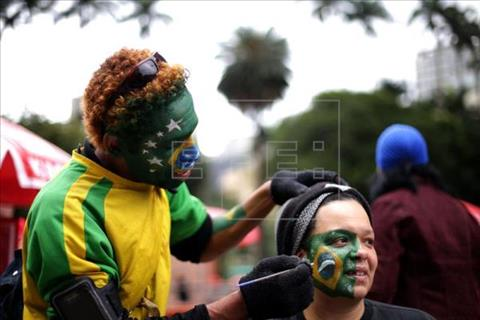 World Cup 2018 với Brazil Khi bóng đá khiến nhịp sống như ngừng lại hình ảnh 2