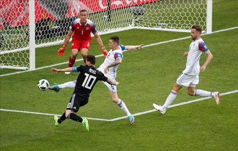 DT Iceland da thanh cong trong viec ngan chan Messi ghi ban.