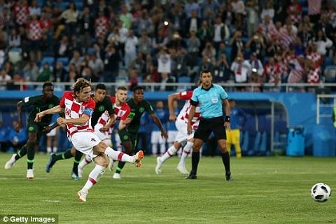 Ban thang cua Modric Croatia vs Nigeria