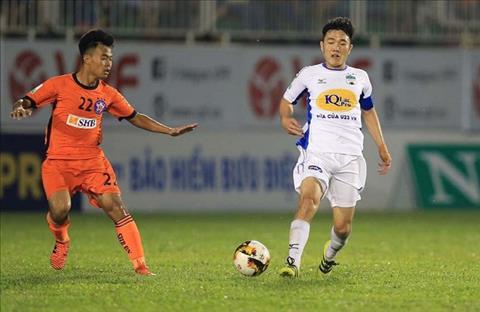 Tong hop: Da Nang 2-1 HAGL (Vong 14 V-League 2018)