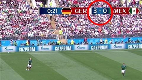 FIFA mắc sự cố trận Đức vs Mexico hài hước về tỷ số  hình ảnh
