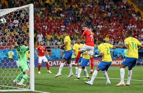Zuber ghi ban truoc Brazil