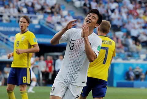 Shin Taeyong phát biểu về trận Thụy Điển vs Hàn Quốc hình ảnh