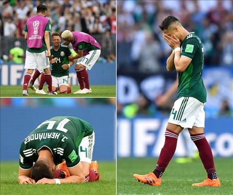 Chicharito phat bieu ve tran Duc vs Mexico