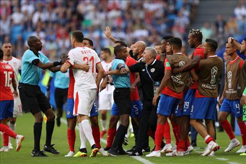 Costa Rica gan nhu khong con co hoi di tiep neu thua Brazil