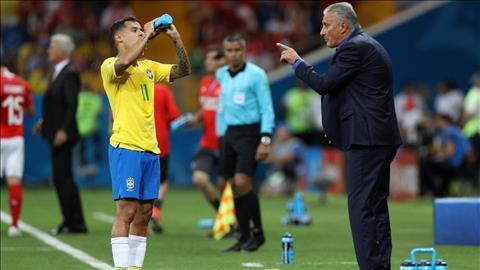 HLV Tite tuc gian vi DT Brazil khong tan dung duoc loi the dan ban.