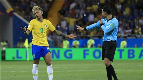 Neymar chỉ trích trọng tài sau khi Brazil bị cầm hòa hình ảnh