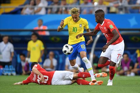 Neymar la muc tieu chat chem