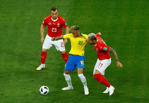 Tong hop: Brazil 1-1 Thuy Sy (Bang E World Cup 2018)