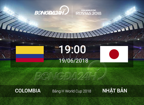 Preview Colombia vs Nhat
