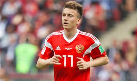 Juventus muốn mua Aleksandr Golovin ở Hè 2018 hình ảnh