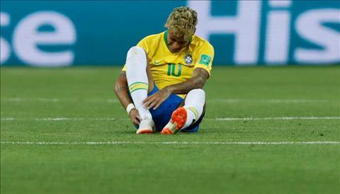 Neymar tái phát chấn thương sau trận gặp Thụy Sĩ hình ảnh