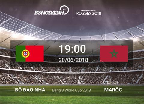 Preview Bo Dao Nha vs Maroc
