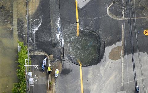 Tuyển thủ Nhật Bản sốc tâm lý vì thảm họa động đất ở quê nhà hình ảnh