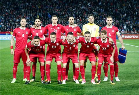 Danh sach cau thu Serbia tham du World Cup 2018
