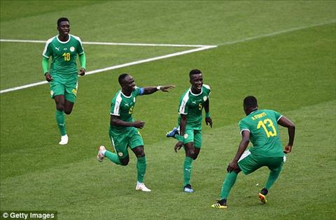 DT Senegal an mung ban mo ti so khi Cionek da phan luoi nha.