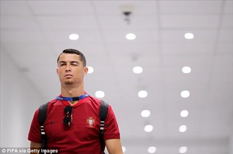 Cristiano Ronaldo - niem hy vong so mot cua DT Bo Dao Nha hoan toan tu tin truoc tran dau.