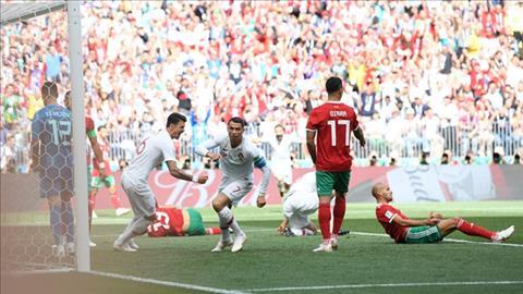 Cristiano Ronaldo lập kỷ lục sau trận thắng Ma Rốc hình ảnh