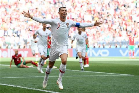 Cristiano Ronaldo som mo ti so ngay o phut thu 4.