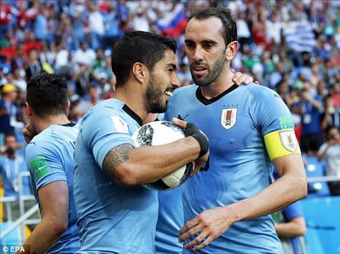 Ban thang duy nhat cua Suarez giup Uruguay gianh chien thang 1-0