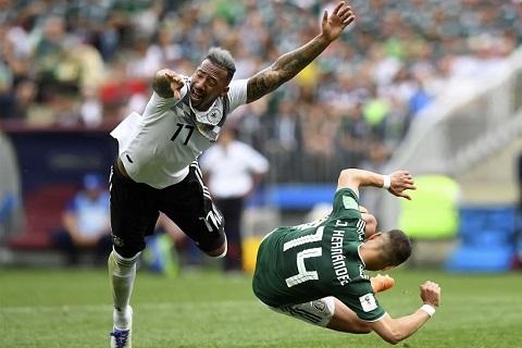 Boateng lý giải trận thua của Đức trước Mexico