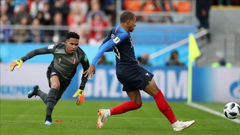 Kylian Mbappe mo ti so tran dau Phap vs Peru.