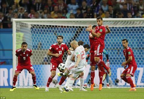 Dư âm Iran vs Tây Ban Nha bảng B World Cup 2018 hình ảnh