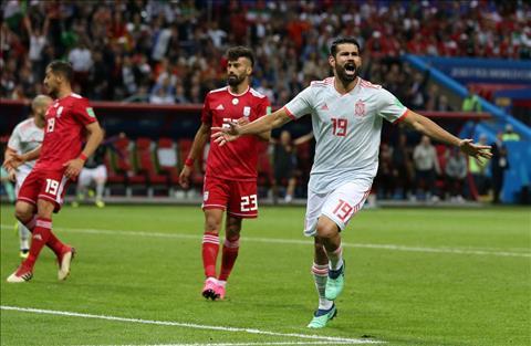Những thống kê ấn tượng sau trận đấu Iran 0-1 Tây Ban Nha hình ảnh