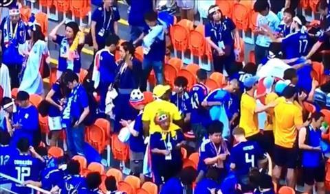 Bài dự thi Ấn tượng World Cup 2018 Tinh thần người Nhật hình ảnh