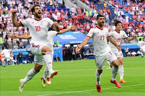 DT Iran se gianh suat di tiep tai bang B World Cup 2018 neu danh bai Bo Dao Nha o tran dau cuoi.