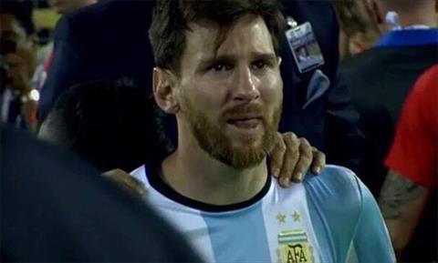 Mẹ Messi Con trai tôi khóc nhiều lần trong màu áo ĐTQG Argentina hình ảnh