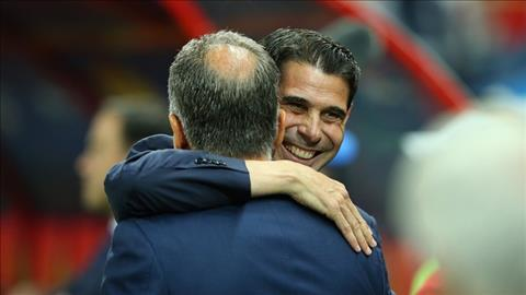 Fernando Hierro phat bieu ve tran Iran vs TBN