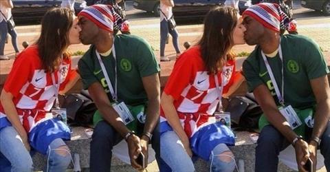 Nu hon giua hai CDV Croatia va Nigeria