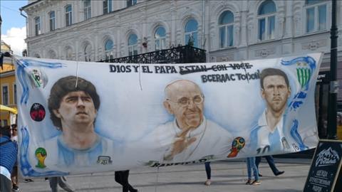 Những hình ảnh ấn tượng trong ngày Argentina thua thảm Croatia hình ảnh